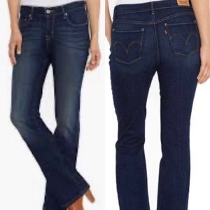 Levi's Red Tab 515 Boot Cut Jeans, size 10